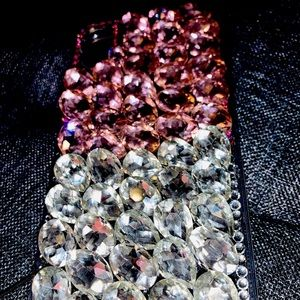 Bejeweled NEW IPHONE XR CASE & keychain